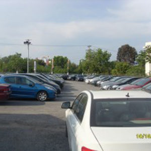 Ikaros Aeropark, parking αεροδρομίου Μακεδονία, Θεσσαλονίκη