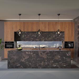 Eliton rock, κουζίνα χωρίς πόμολα